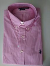 Ralph Lauren Clasic Fit Shirt Oxford Style Long Sleeve With Tag XL Blue
