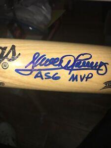 Sandy Alomar Jr Cleveland Indians Signed  1997 Allstar Game MVP Baseball Bat