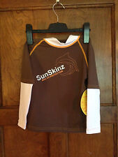 SunSkinz 6 Kids NWT Rash Guard UV Protective L/ Sleeve UPF 50 Shirt Swimwear