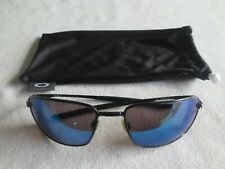 Oakley black Square Wire glasses frames. OO4075-01. With bag.