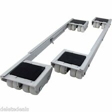 Heavy Appliance Rollers Furniture Dolly Casters Wheels Washer Dryer Refrigerator