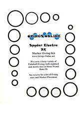 Spyder Electra DX Paintball Marker O-ring Oring Kit x 2 rebuilds / kits