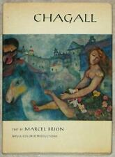 CHAGALL ~ TEXT by MARCEL BRION ~ 36 FULL COLOR REPRODUCTIONS ~ POCKET SIZE HC