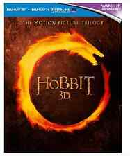 The Hobbit Trilogy 3D (3D + 2D Blu-ray)
