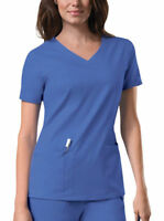Cherokee Workwear Core Stretch Women's 4727 V Neck Scrub Top Pick Size&Color!