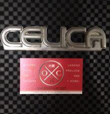 Toyota Celica OEM Rear Emblems 1981-1985 82 83 84 Rare USDM JDM Badge A60 Supra