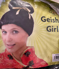 JAPANESE / CHINESE / GEISHA GIRL WIG FANCY DRESS