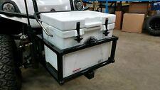 Ezgo club car yamaha Sub Z Hard Chest  golf cart  hitch cooler carrier BLACK