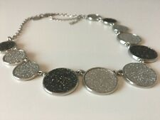 NEXT  Silver and Black Necklace