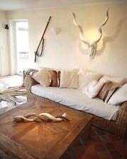 Kudu antilope Africa Decorazione corna Africa corna ARGENTO/BIANCO MOLTO GRANDE!!!
