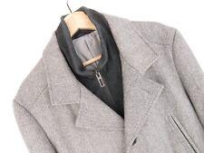 KU1921 Marks&spencer Giacca Cappotto Originale Premium Lana a Spina di Pesce