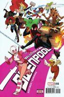 Unbelievable GwenPool #18 Marvel Comic 2016 1st Print NM