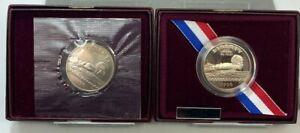 1996 S US Atlanta Olympic Games Swimming Clad PROOF & UNCIRCULATED Half Dollars