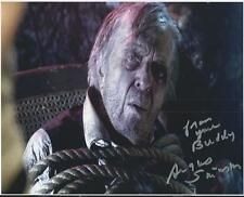 Angus Scrimm - Incident on and off a Mountain Road signed photo