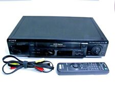 Sony Video Cassette Recorder VCR VHS Working SLV-788HF VCR Plus+ Hi-Fi w Remote