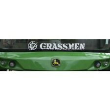 Official Grassmen Large Window Graphics Decal Sticker Tractor Vehicle Truck