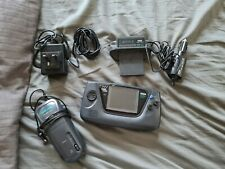 Sega Game Gear with games, carry case and accessories