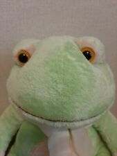 """Plush Toy Frog Paddles By Russ Baby 17"""""""
