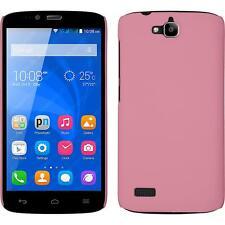Funda Rígida Huawei Honor Holly - goma rosa + protector de pantalla
