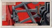 Stephenson Valve Gear Steam Engine Train 1920s Trade Ad Card