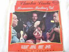 CHACHA LINDA HERMANOS MARTINEZ GIL VINYL LP ORIGINAL 1970 ORFEON LP-12-505, MONO