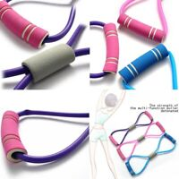 Stretch Band Rope Rubber Arm Resistance Fitness Exercise Pilates Yoga Gym Hot