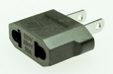 Adapter Reiseadapter 110V zu 230V Euro Stecker NEMA-1 Typ A zu CEE 7/16 Eurost.