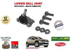 FOR DACIA DUSTER 2012-> NEW 1 X FRONT SUSPENSION WISHBONE ARM BALL JOINT KIT