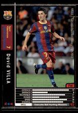 Panini/Sega (Japan) WCCF (2010-2011) David Villa (FC Barcelona) No. 288
