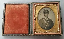 Civil War Ambrotype Soldier I.D. Patrick Lowrey 28Th Mass. Infantry