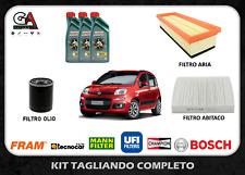 Kit tagliando Fiat Panda 1.2 51KW 69CV (312, 319) dal 02/2012 Castrol Magnatec