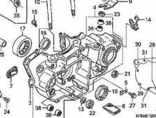 2004-2006 CRF250R LEFT SIDE COMPLETE CRANKCASE ENGINE CASE BEARINGS FIGURE 4
