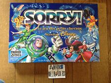 SORRY le jeu des petits chevaux version DISNEY COMPLET PARKER 2001