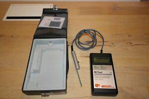 Maurer magnetic M-Test LR meter /measuring ferromagnetic parts / magnetisme