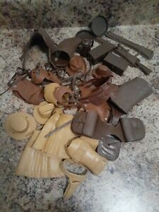 HUGE VTG Marx  Johnny West Jane West Lot  Accessories, & Parts
