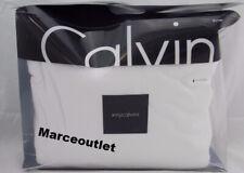 Calvin Klein Home Modern Cotton Body Jersey Twin Duvet Cover White