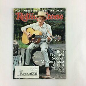 November 2014 Rolling Stone Magazine Bob Dylan's Secret Masterpiece Matt Taibbi