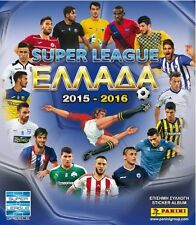 PANINI 2015 2016 SUPER LEAGUE GREECE FULL STICKERS SET ALBUM GREEK PODOSFAIRO