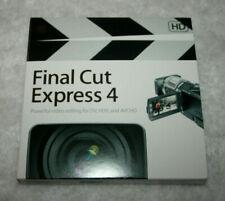Apple Final Cut Express 4 HD (Powerful Video Editing DV, HDV, AVCHD)  MB278Z/A