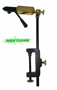 MDI Game Rotatable Side Lever Action Fly Tying Clamp Vice