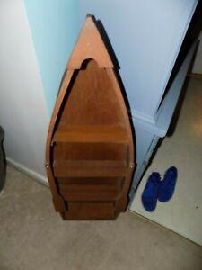 43 Inches Tall Canoe Shelf EUC