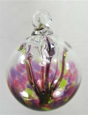 Gazing Ball 3 inch hand blown glass ornament (AA)