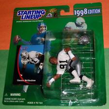 1998 CHESTER MCGLOCKTON #91 L.A. Raiders Rookie -FREE s/h - sole Starting Lineup