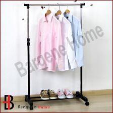 PORTABLE STAINLESS STEEL CLOTHES ORGANIZER HANGER RACK CLOTH COAT GARMENT DRYER