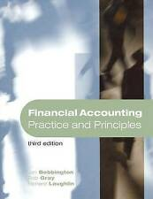 NEW Financial Accounting: Practice and Principles by Jan Bebbington