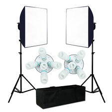 2250W Photography PhotoStudio Video Continuous Lighting  Softbox Light Stand Kit