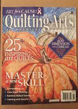 Quilting Arts Magazine Master A New Skill Color Block Oct/Nov 2014 FREE SHIPPING