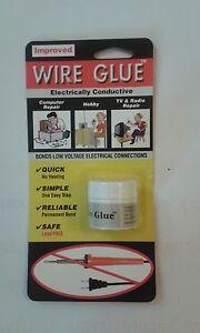 Hautement Conductrice Câble Colle / Peinture Pour AC / Dc - No Fer à Souder