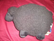 "Lot of 6 Bath & Body Works Black LAMBIE Sheep Plush Stuffed Toy 9"" NEW in Bag !"