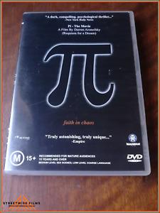 Pi - The Movie (DVD, 2015)